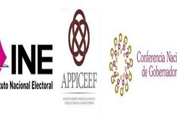 Realizan INE, CONAGO Y APPICEEF Reunión Para Fortalecer El Sistema Electoral Mexicano