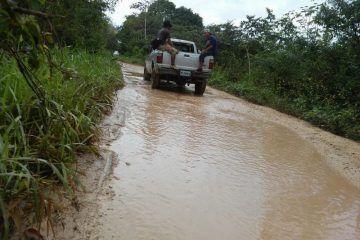 Productores sufren para sacar cosechas a consecuencia de las lluvias