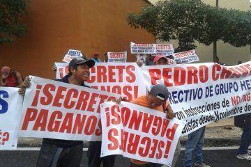 Ejecutivos del Secrets, seden ante presión de contratistas