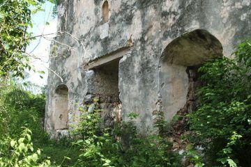 INAH hace al feo a una iglesia ubicada cerca del ejido Guadalupe Victoria