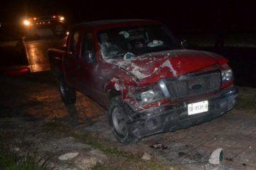 Bajo el influjo del alcohol se estrella contra poste de Luz en Chetumal