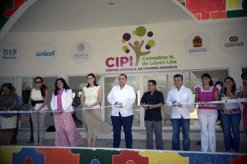 Gobierno de Mauricio Góngora comprometido con la niñez