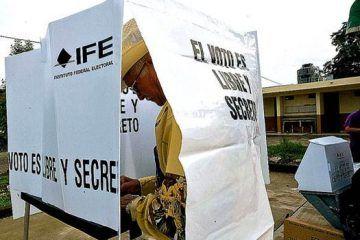 INE presume instalar 45 casillas extraordinarias en zona rural