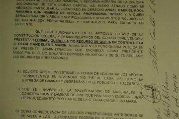 Evidencia fraude de personal del ayuntamiento de Othón P. Blanco