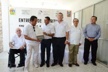 """""""Pato"""" Carballo da felicidad a 60 familias en la Zona Maya"""