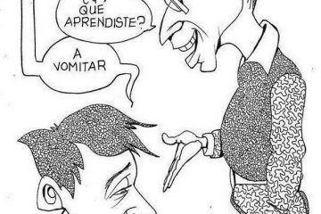 LUY: Amarga enseñanza #caricatura