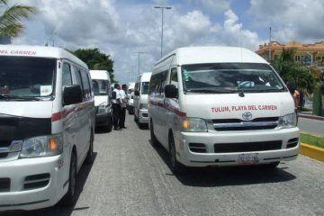 Colonos piden a autoridades de Tulum regular los paraderos de transporte público