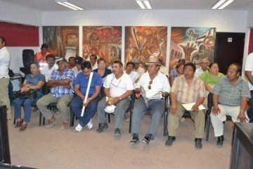 Fructífera reunió entre autoridades y ejidatarios de FCP