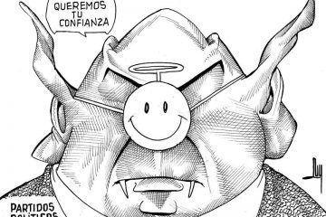 LUY: Disfraz electorero #caricatura