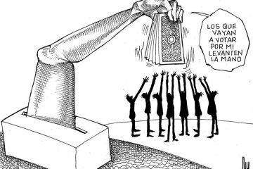 LUY: El llamado a la democracia #caricatura