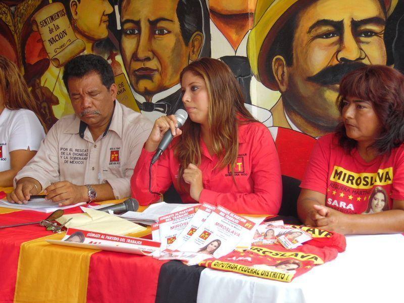 México, entre una ola de desigualdades: La petista, Miroslava Reguera Martínez