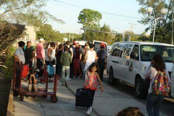 No descartan corridas extras por éxodo de turistas que salen del Sur de Quintana Roo