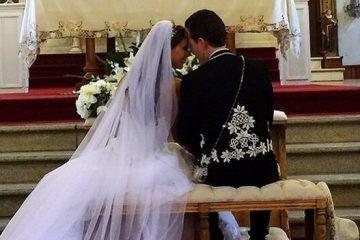 Manuel Velasco y Anahí se casan en San Cristobal de las Casas