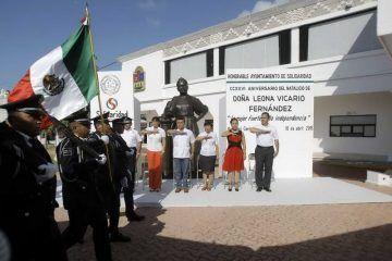 Recuerdan en Solidaridad a Doña Leona Vicario
