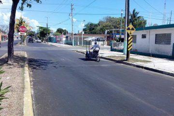 Desaparecen los topes en avenidas de Chetumal