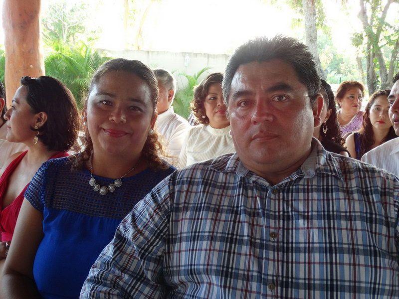 Karen Rosas y Víctor Novelo Vanegas