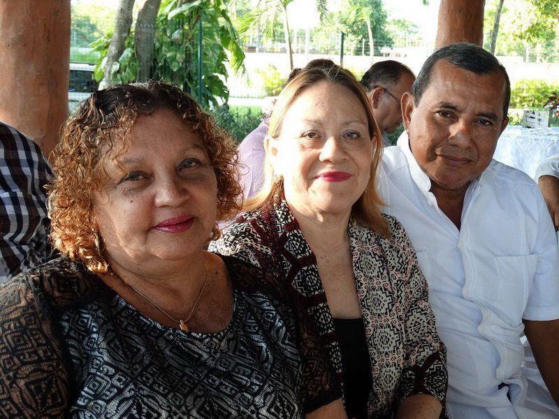 Caridad Fernández Prado, Socorro Antonio de Ortiz y Manuel Ortiz Yeladaqui