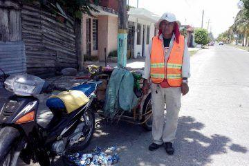 """""""Don Nachito"""", ni recibe ni espera un """"gracias por limpiar la ciudad"""""""