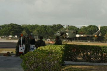 Fuerzas castrenses supervisan rutas de evacuación por posibles huracanes