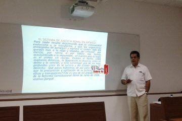Inicia curso para Periodistas en el Sistema de Justicia Penal, Acusatorio y Oral