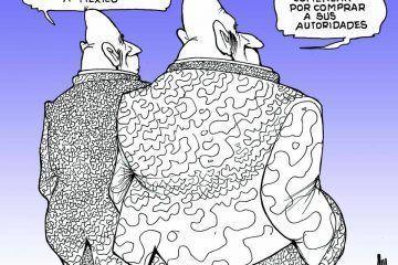 LUY: En el plano internacional #caricatura