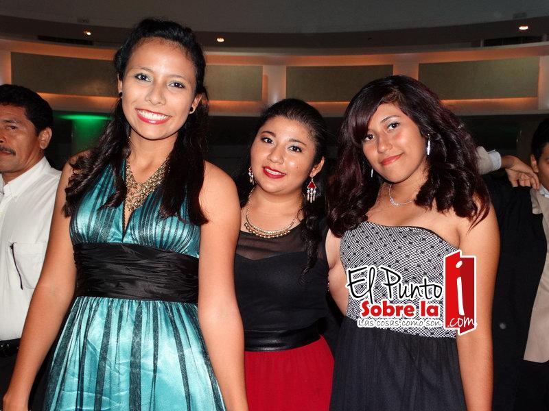 Karla Fernández Sansores, Elizabeth Dzul Itza y Vianey Cruz Caballero