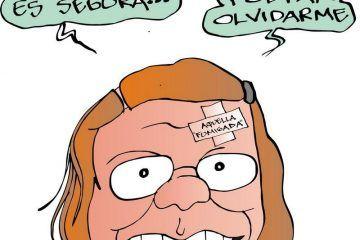 COLINAS: Huella indeleble #caricatura