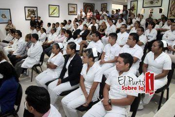 Mauricio Góngora reconoce trabajo del hospital general de Playa del Carmen
