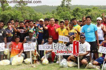 """Ponen en marcha la I edición de la Liga de Fútbol """"Fuerza Social"""" en la zona limítrofe"""