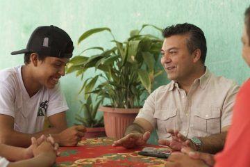 Mauricio Góngora mantiene contacto cercano con los solidarenses