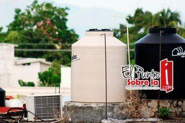 Invita CAPA a cultura de almacenamiento de agua en caso de huracanes