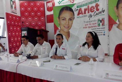 Arlet se declara lista para la elección