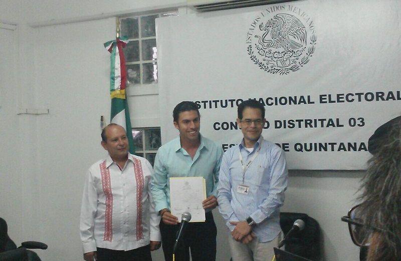 El compromiso es con Quintana Roo: Remberto Estrada