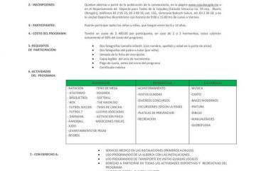 Inicia Inscripciones Para El Programa Vacacional Baaxlo'ob Paalalo'ob 2015
