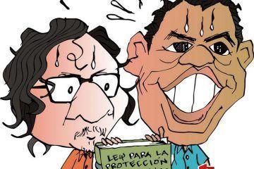 COLINAS: Desquitando el sueldo #caricatura