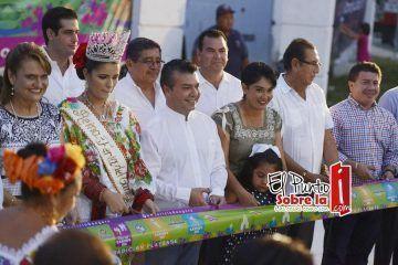 Inaugura Mauricio Góngora la Feria del Carmen 2015