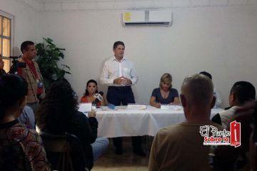 Sergio Bolio pide confianza a periodistas, asegura defenderá la nueva Ley