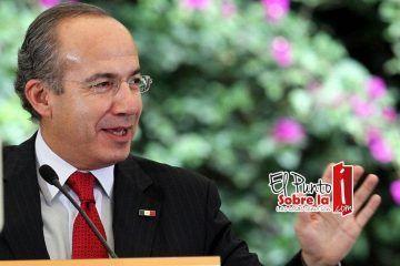 Ex presidente de México vacaciona en Cancún