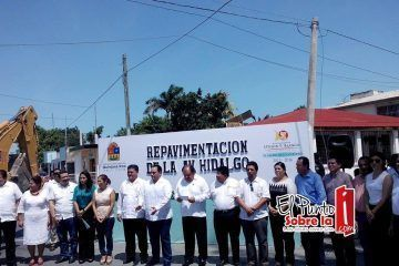 Arranca repavimentacion de la avenida Hidalgo