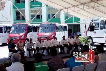 Chetumaleños reciben respuesta a la demanda de transporte urbano