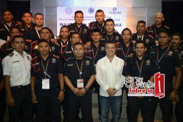 Gobierno de Mauricio Góngora capacita para garantizar la seguridad ciudadana