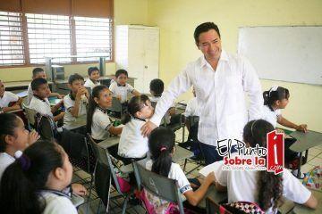 Mi prioridad se encuentra en la educación de calidad: Chanito Toledo