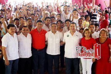 Total fortalecimiento al PRI en Bacalar
