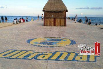 """Profepa evalúa la demolición del muelle """"Ultramar"""" construido en Playa del Carmen"""