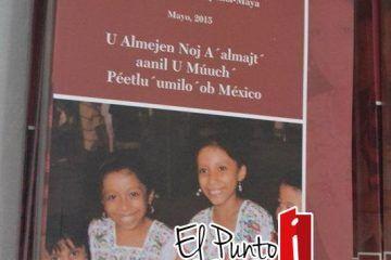 """¡Honor a la """"casta maya""""!,presentan en FCP carta marga en versión maya"""