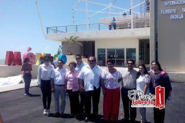 Inspeccionan conclusión de Terminal Marítima Internacional de Chetumal