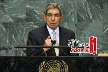 La vecindad con Estados Unidos provoca que en México se agudice el tráfico de armas: Oscar Arias