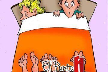 LUY: Cama cama para tres #caricatura