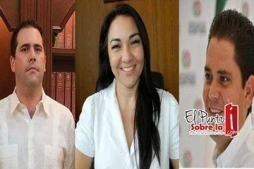 """Los """"Juanes"""" (Juan Pablo Guillermo y Juan Carlos Pereyra) y Teresita Flota listos para gobernar Solidaridad"""
