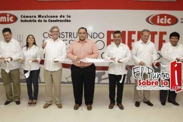 Inauguran Edificio De La Cámara Mexicana De La Industria De La Construcción, En Playa Del Carmen